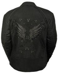 Women's Textile Jacket w/Stud & Wing Detail SH1954
