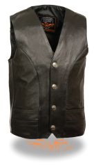 Men's Classic Vest w/ Buffalo Nickel Snaps ML1368