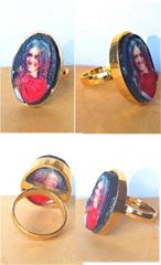 Murcian@ 18K gold Ring Selfie