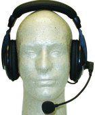 MFJ-393MK Professional Boom-Mic Headphones For Kenwood