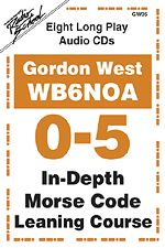 Gordon West 0 - 5 Words Per Minute In-Depth Morse Code Learning Course