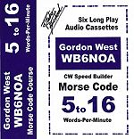 Gordon West 5 to 16 Words Per Minute Morse Code Speed Builder Set