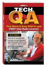 The ARRL Technician Class Question/Answer License Manual