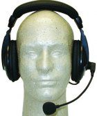 MFJ-393Y Professional Boom-Mic Headphones For Yaesu