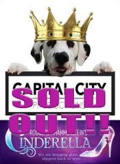 CCP's Cinderella, The Musical - August 10, 2019 - **Saturday Matinee Dinner Theatre**