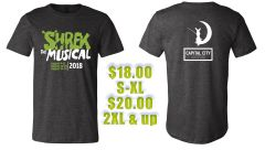 CCP Shrek The Musical Production Shirt!!