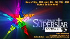 CCP's Jesus Christ Superstar - April 13, 2019 - **Matinee Dinner Theatre**