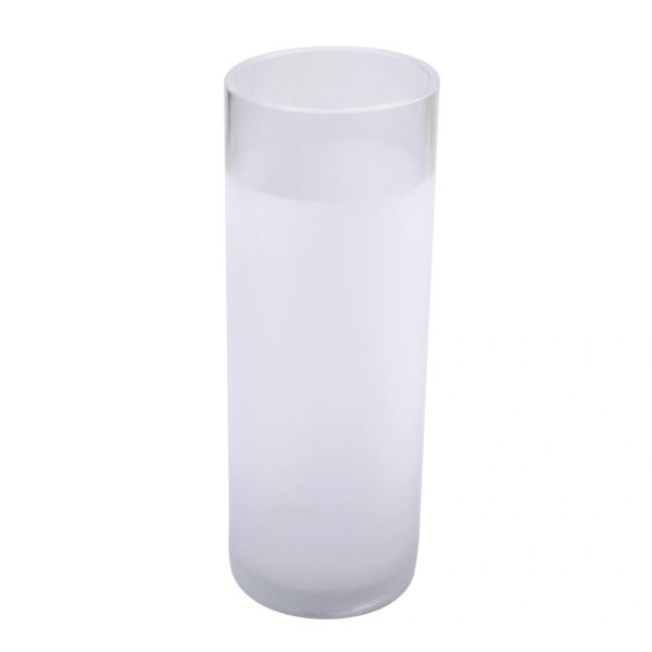 10 Frosted Glass Cylinder Vase Home Decor Items Decorative Items