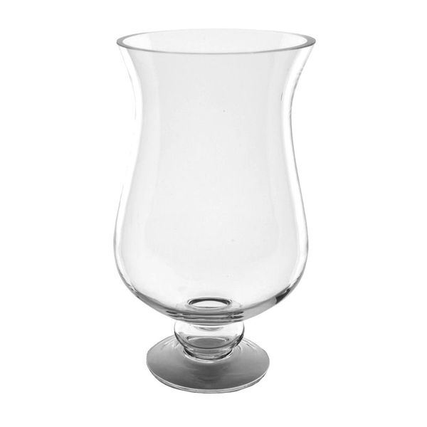 12 Clear Glass Vase On A Pedestal Home Decor Items Decorative Items