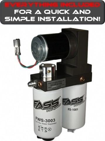 Fass Titanium Series Diesel Fuel Lift Pump 95gph Dodge
