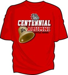 New Design - Centennial Alumni Bell Icon [Ladies Cut]