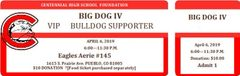 BIG DOG IV Ticket