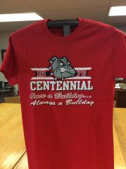 B - Centennial 'Always a Bulldog' T-Shirt