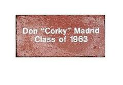 Inscribed Brick for Museum History Courtyard