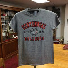 Centennial Bulldogs Grag Short Sleeve T-Shirt