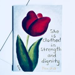 Strength And Dignity Card