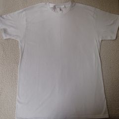 Basic White T-shirt (front only)
