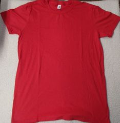 Womens Red T-shirt (front only)