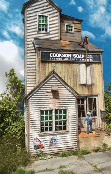Cookson Soap Co Ho Scale Background Kit Fos Scale