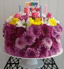 Birthday Cake Arrangement