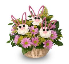 """Somebunny Loves You "" Basket"