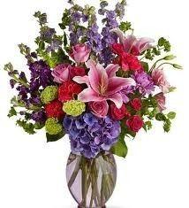 Valentine's Mixed Vase