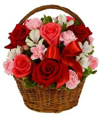 Pinks & Reds Basket