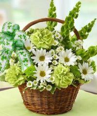 """Basket of Luck"" Arrangement"