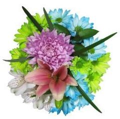 """Softest Touch"" Bouquet (Choose vase or basket)"