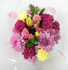 """Eggstra Special"" Bouquet (Choose vase or basket)"