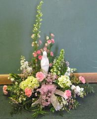 Mother Mary Statue Arrangement