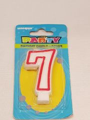 Numeric Birthday Candle