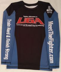 Shirt (Rashguard / Blue-Black)