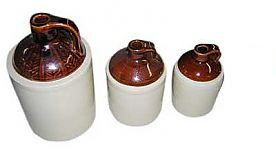 Old-Time Stoneware Jugs