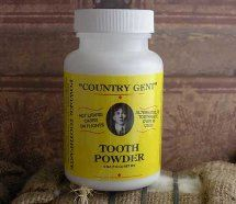 Toiletries:Tooth Powder