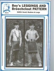 Pattern - (B) Boy's Leggings and Breechclout