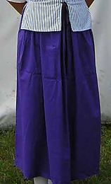 Pattern - W Woman's Skirt and Apron