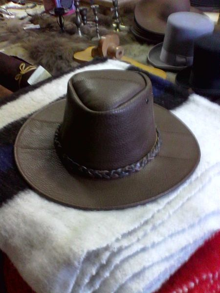 Hat - Leather