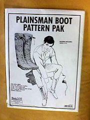 Pattern - (U) Plainsmen Boot
