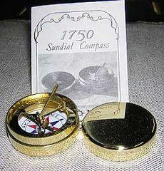 1750 Sundial Compass