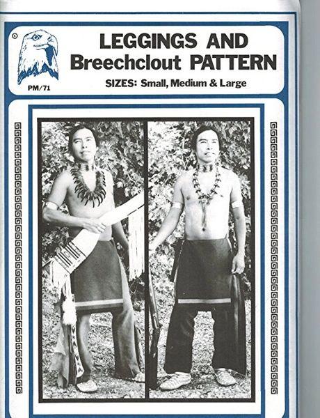 Pattern - (M) Leggings and Breechclout Pattern