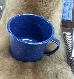 42 OZ Enamalware Mug