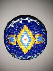 Native American Beaded Ball