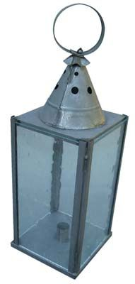 Ladies Square Glass Lantern