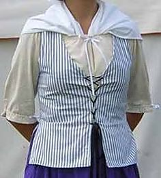 Pattern - W Woman's Bodice Pattern