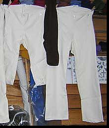 Men's Drop Front Britches and Knee Britches