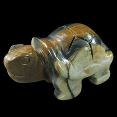 Carved Jasper Turtle
