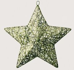 Woven Grass Star Wall Art