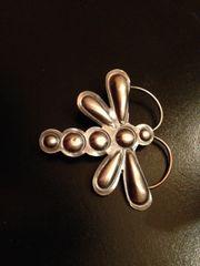 Sterling Silver Butterfly Brooch/Pin