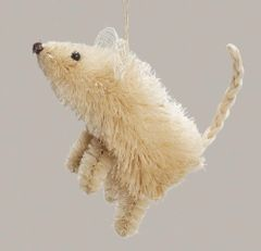 Sisal Mouse Ornament!